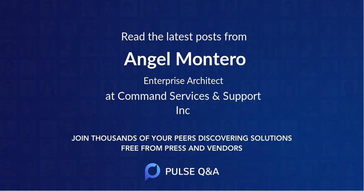 Angel Montero