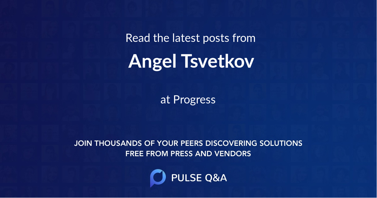 Angel Tsvetkov