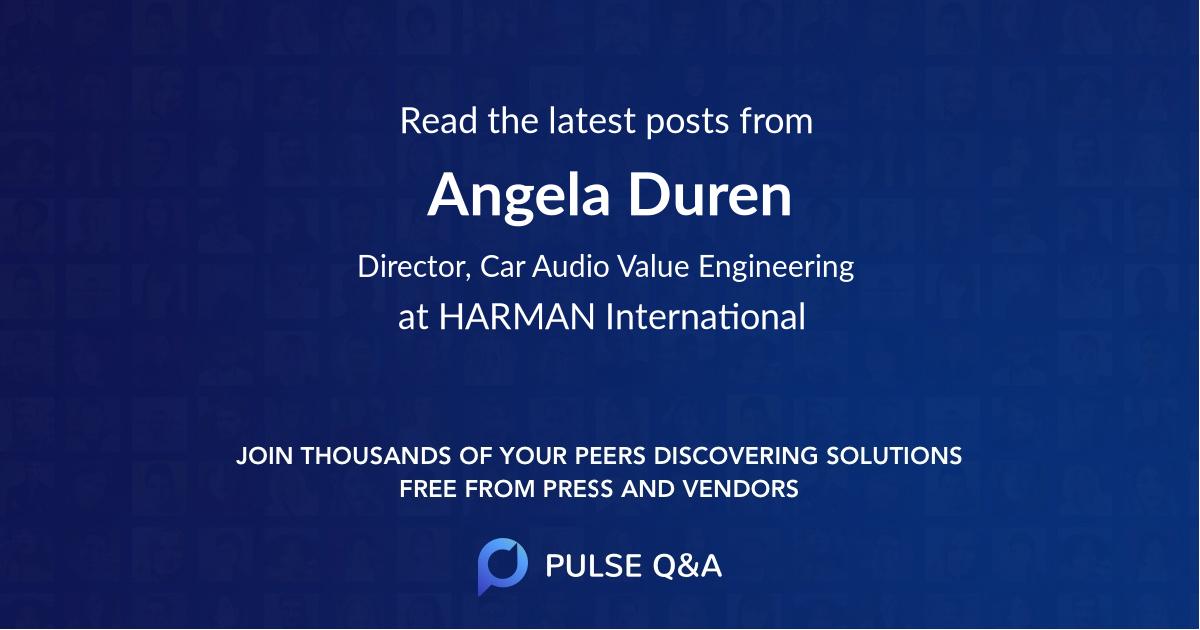 Angela Duren