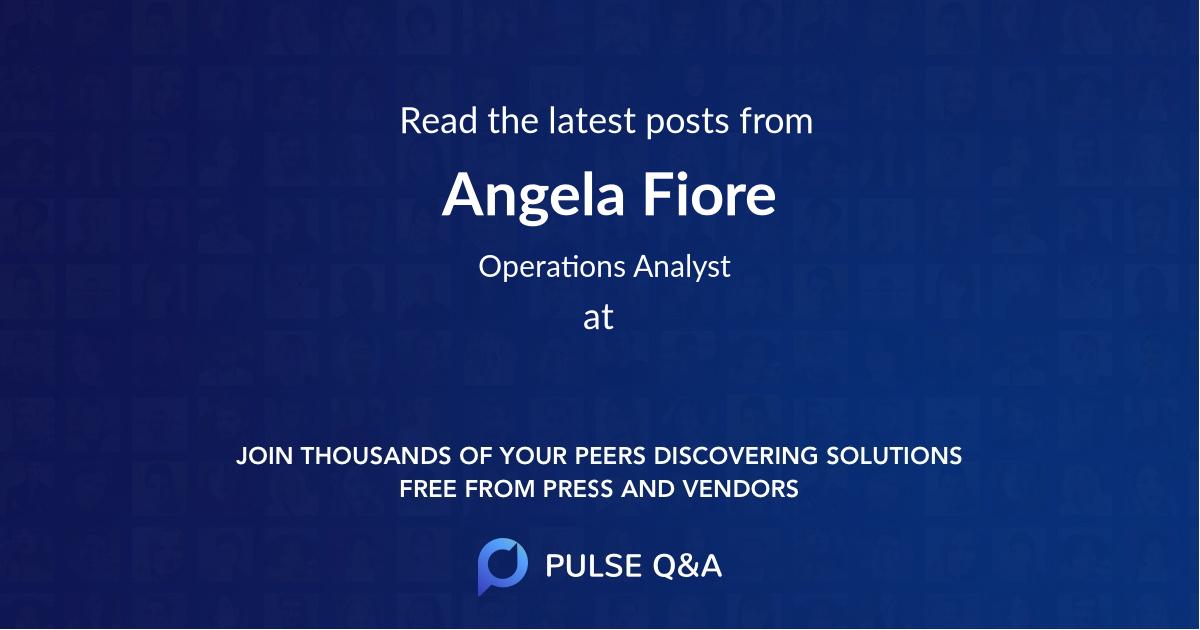 Angela Fiore
