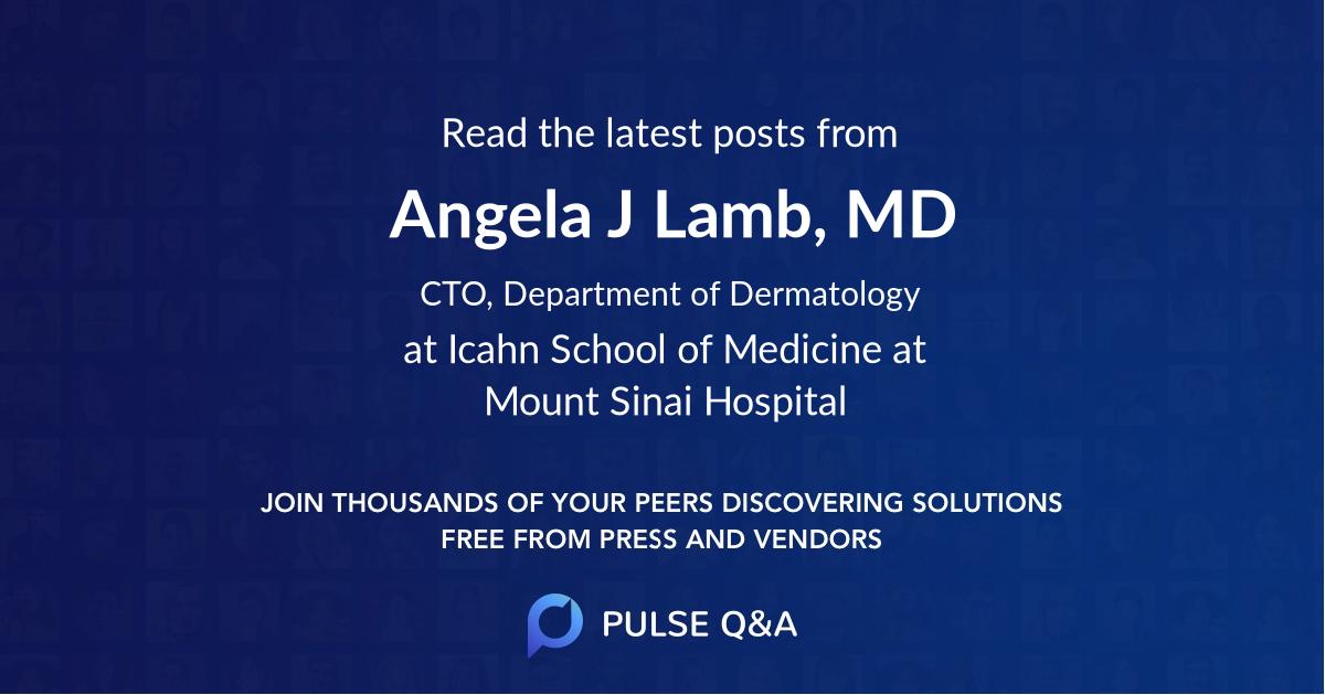 Angela J. Lamb, MD