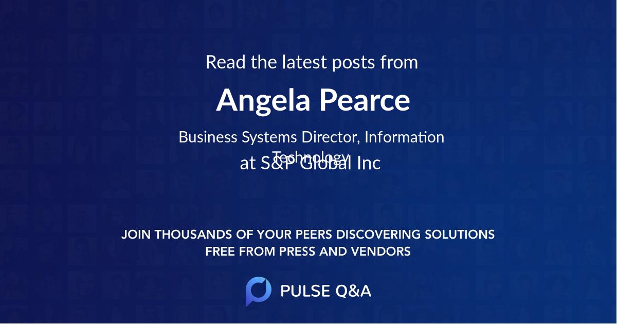 Angela Pearce
