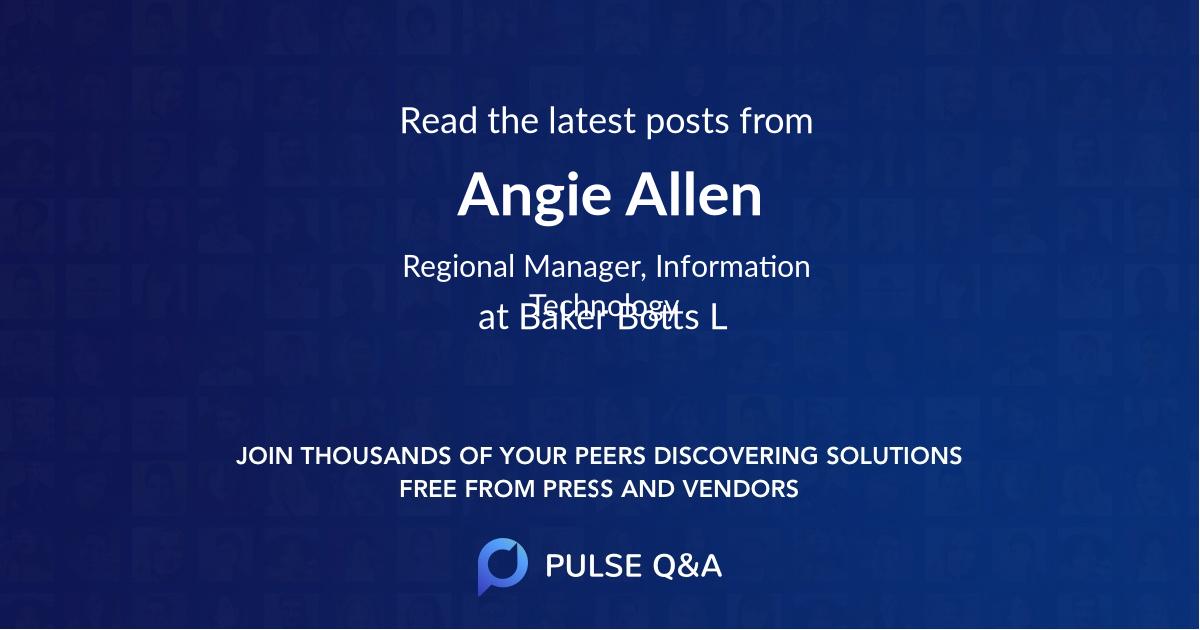 Angie Allen