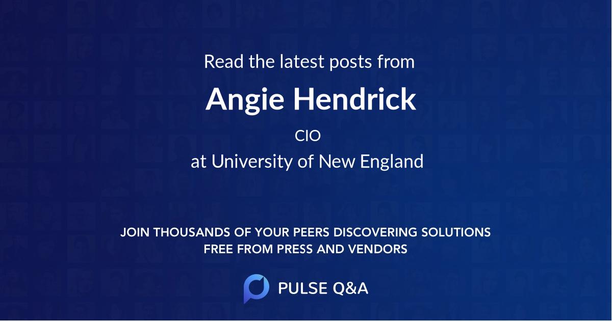 Angie Hendrick