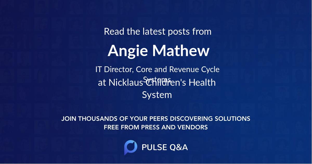 Angie Mathew