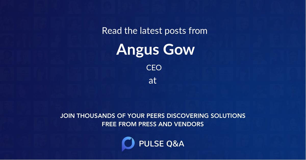 Angus Gow