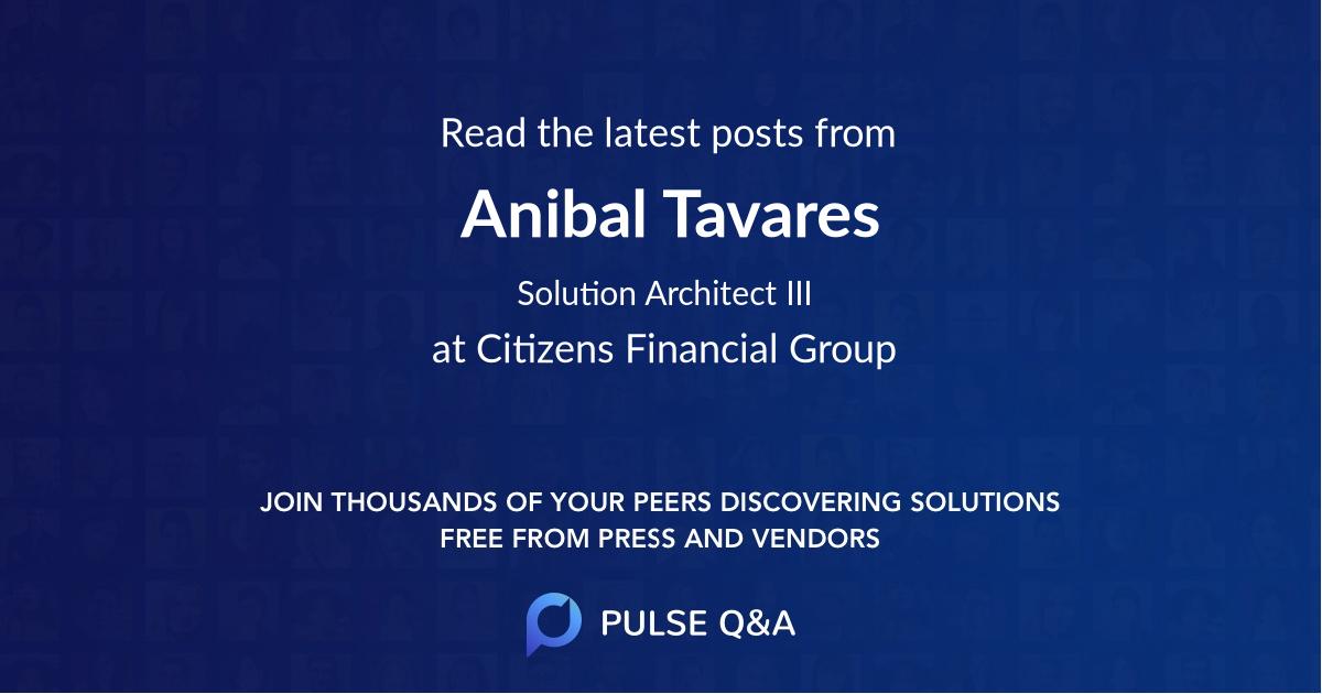 Anibal Tavares