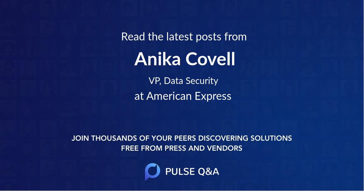 Anika Covell