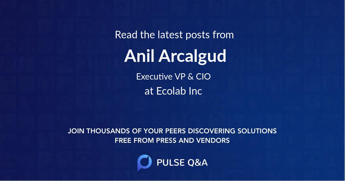 Anil Arcalgud