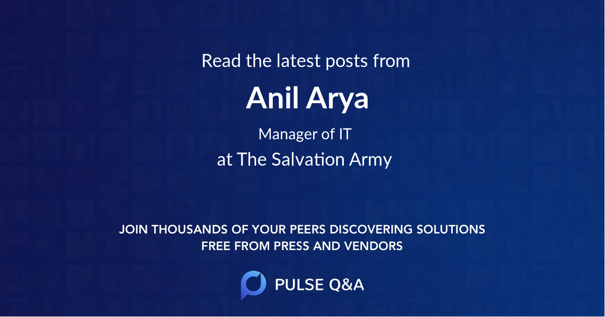 Anil Arya