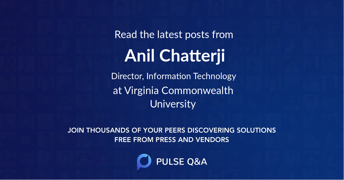 Anil Chatterji