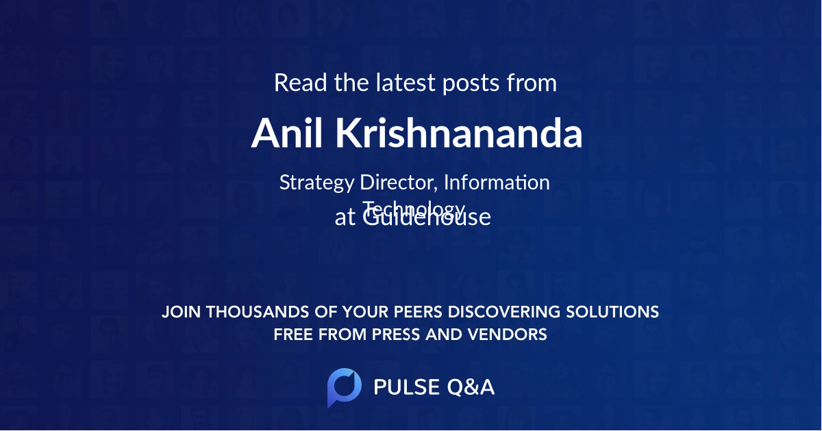 Anil Krishnananda