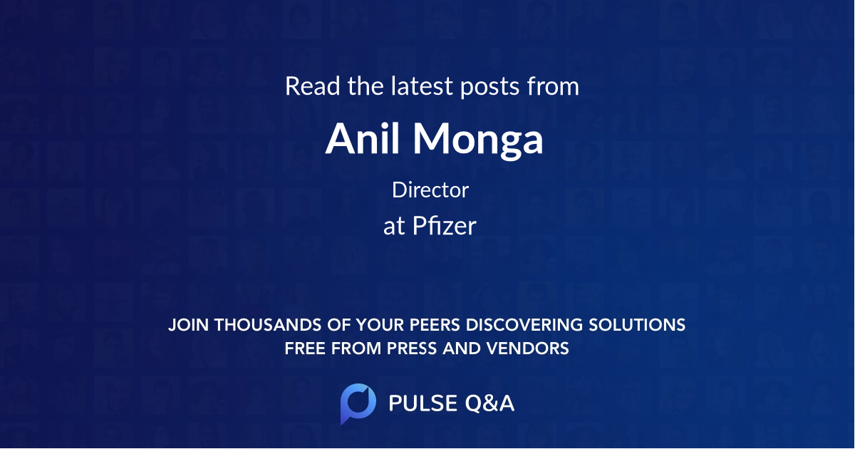 Anil Monga
