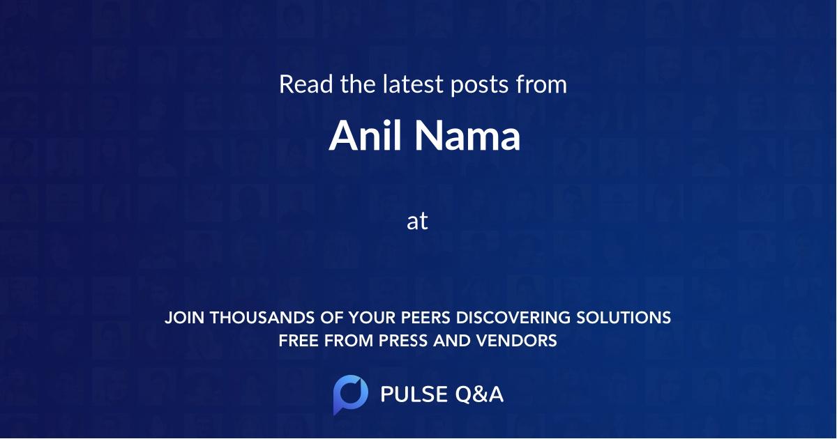Anil Nama