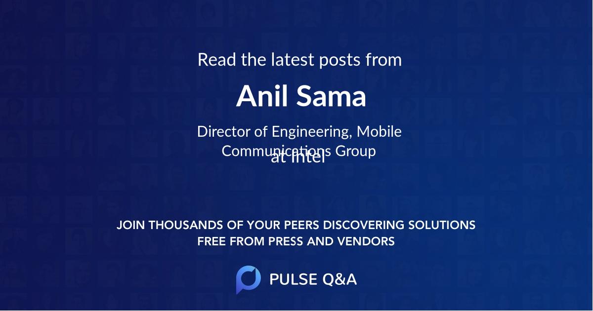 Anil Sama