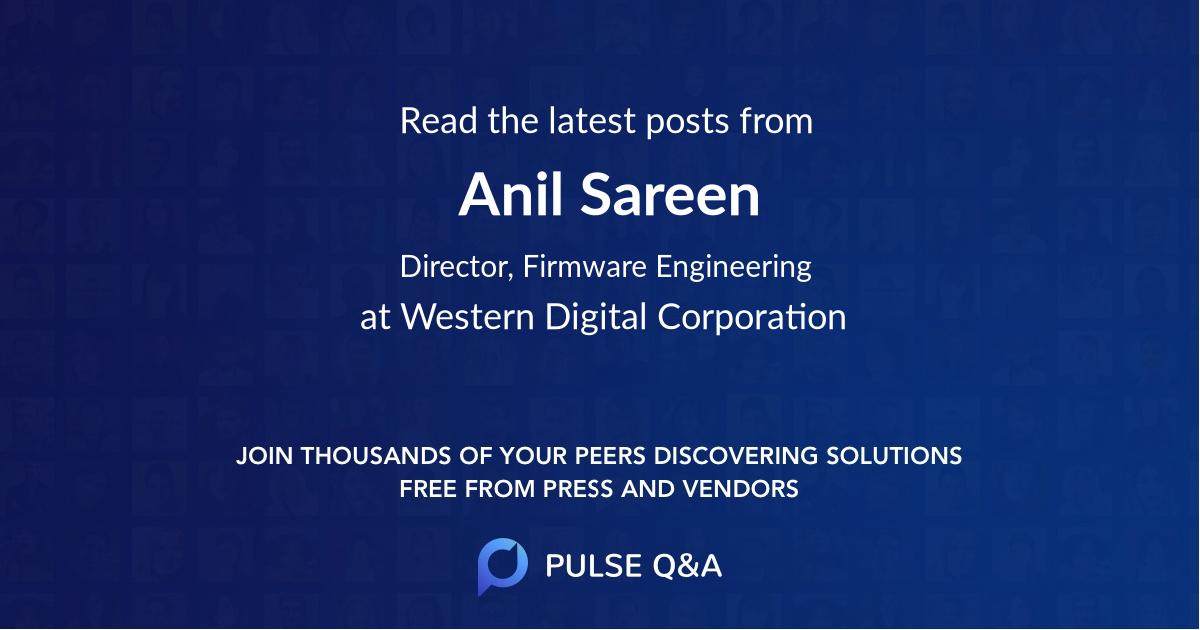 Anil Sareen