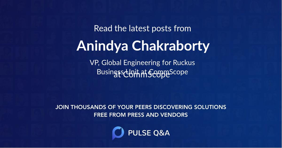 Anindya Chakraborty