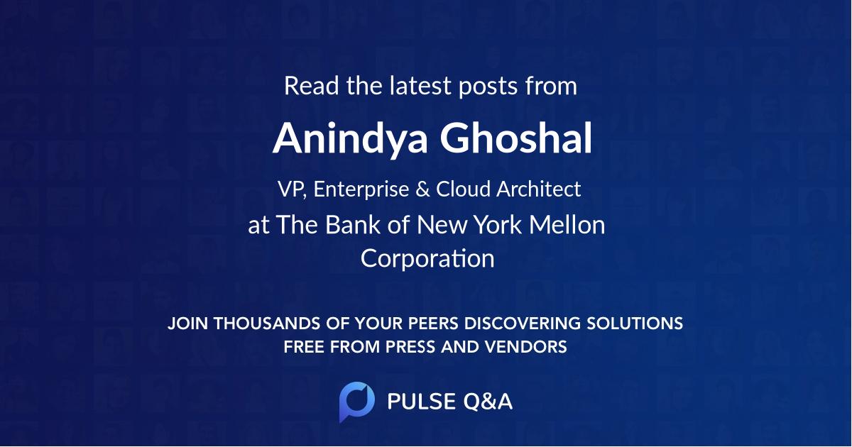 Anindya Ghoshal