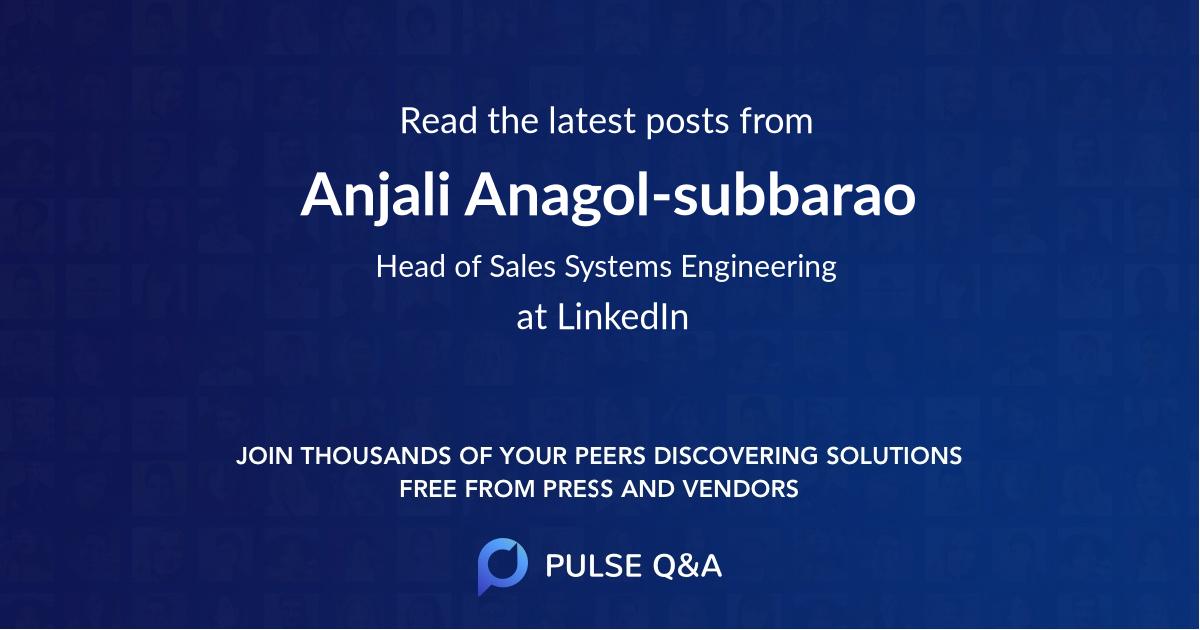 Anjali Anagol-subbarao