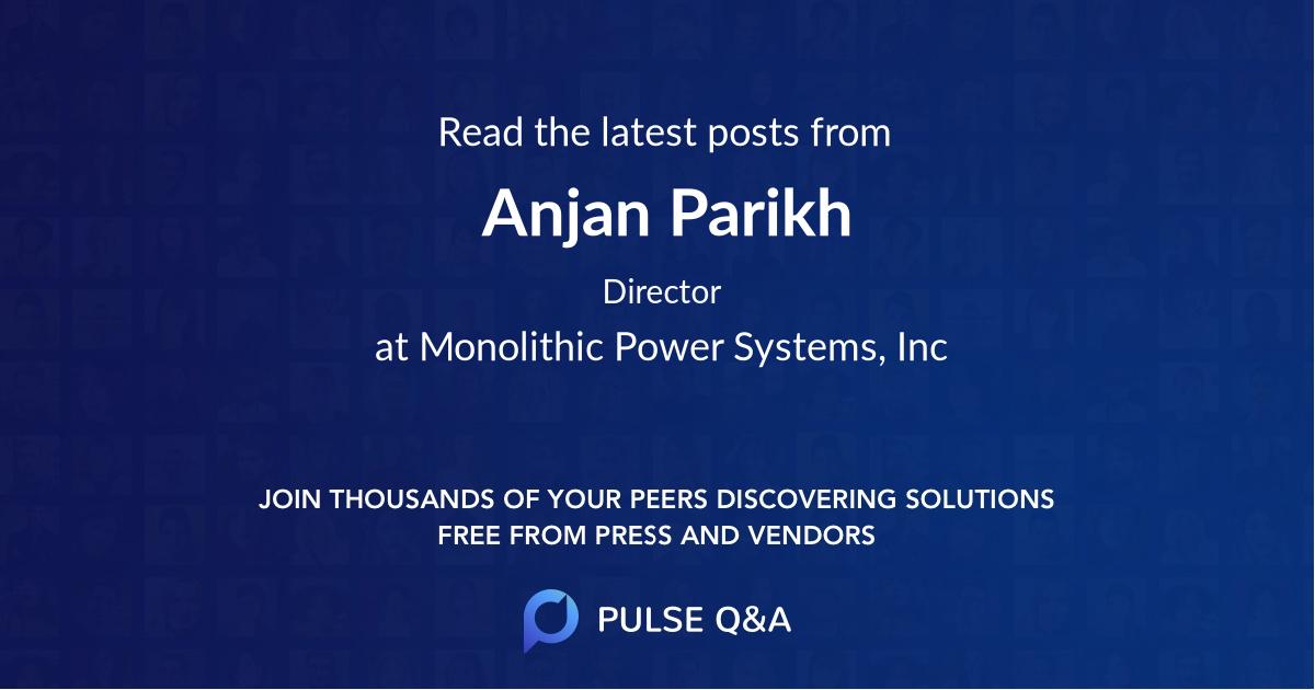 Anjan Parikh