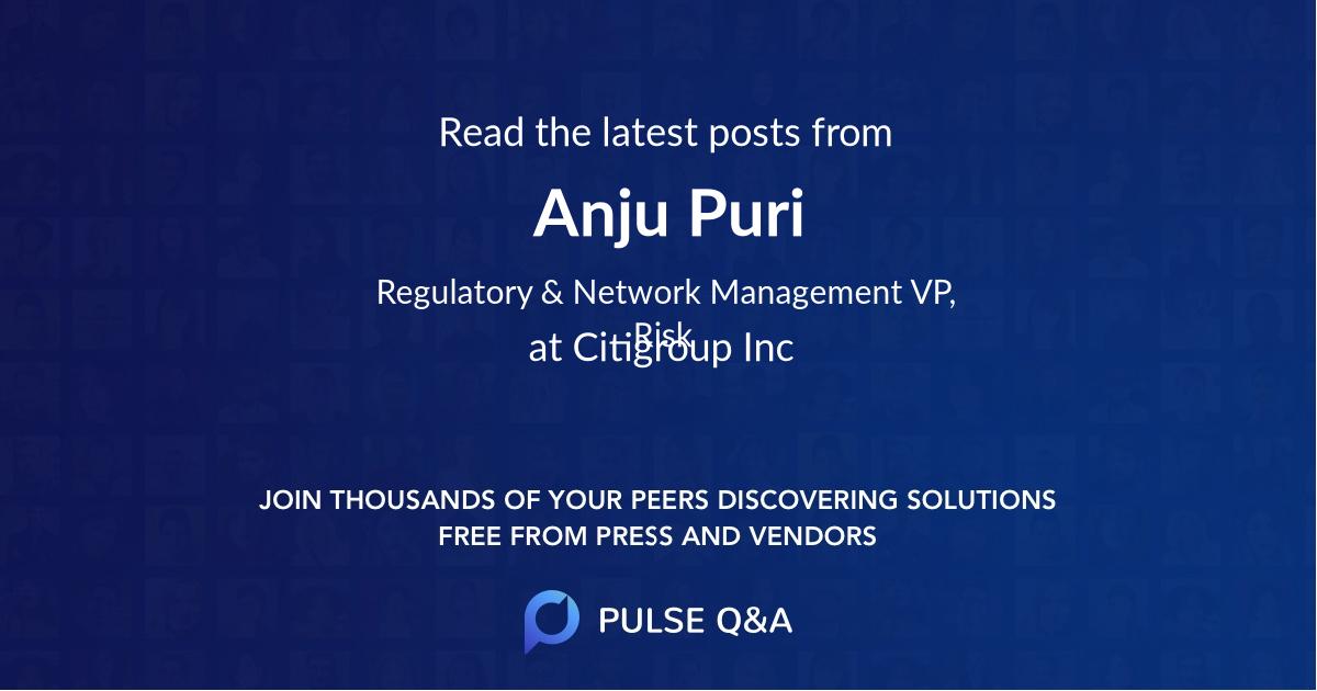 Anju Puri