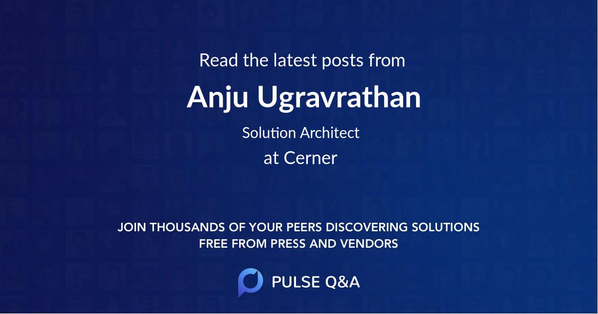 Anju Ugravrathan
