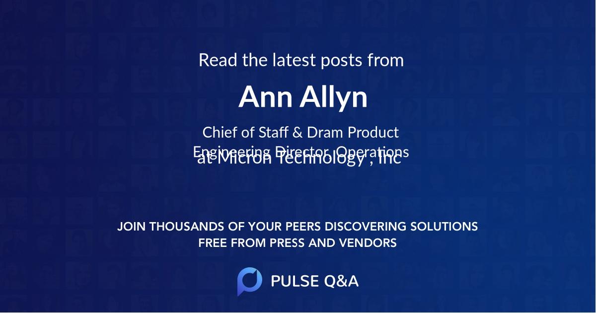Ann Allyn