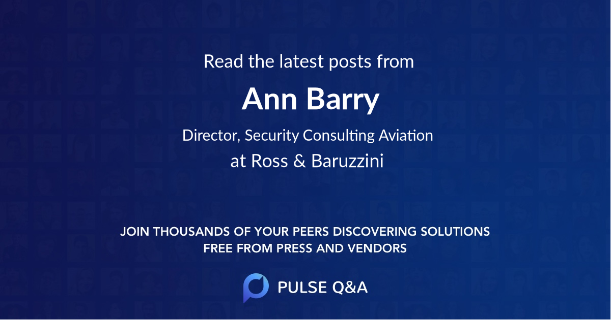 Ann Barry