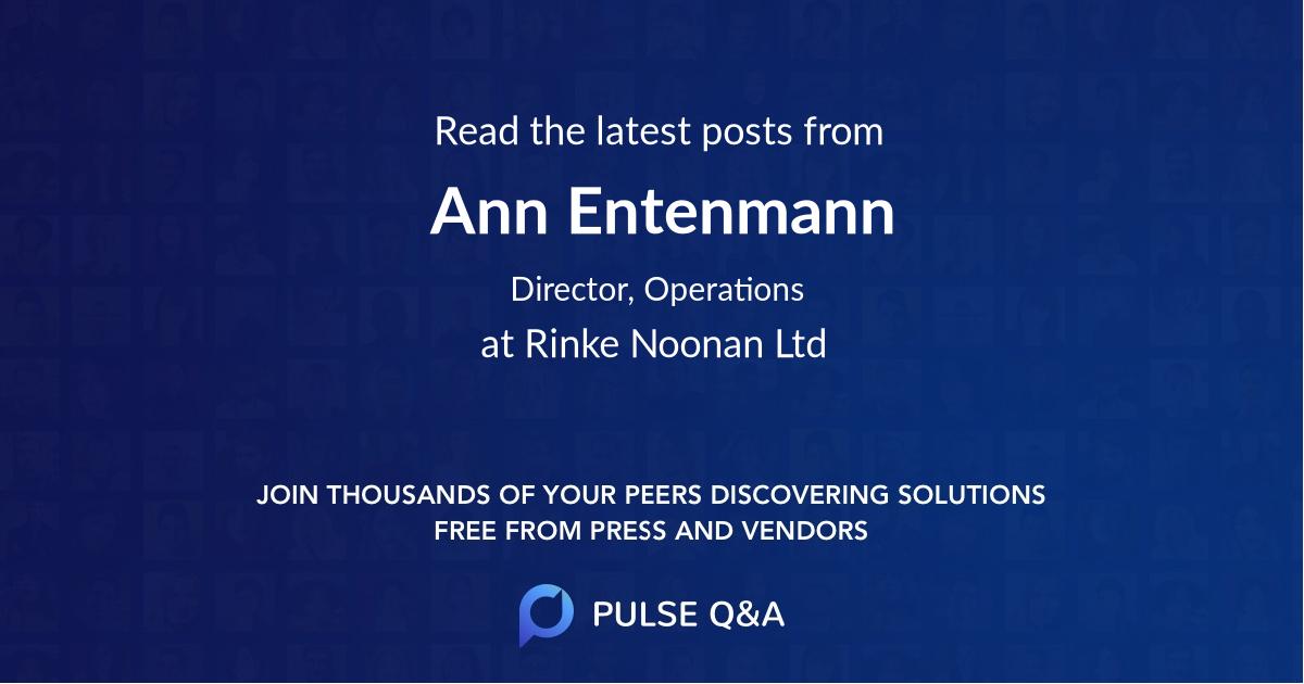 Ann Entenmann