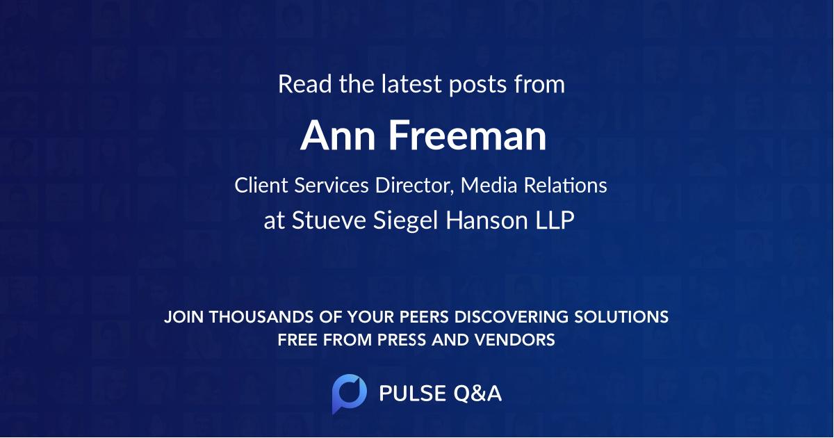 Ann Freeman