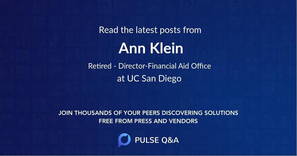 Ann Klein