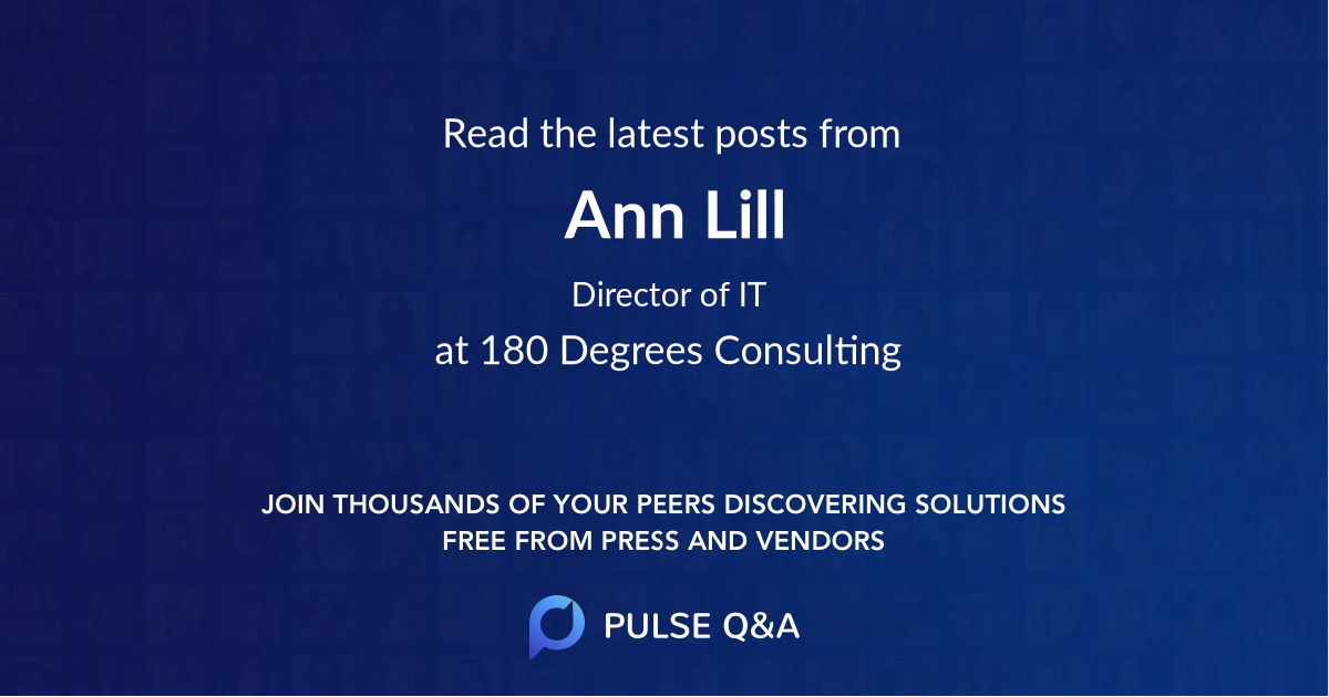 Ann Lill