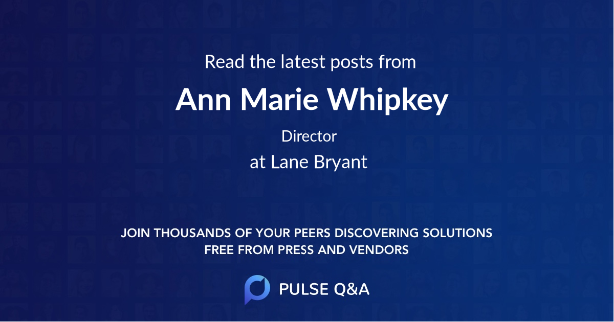 Ann Marie Whipkey