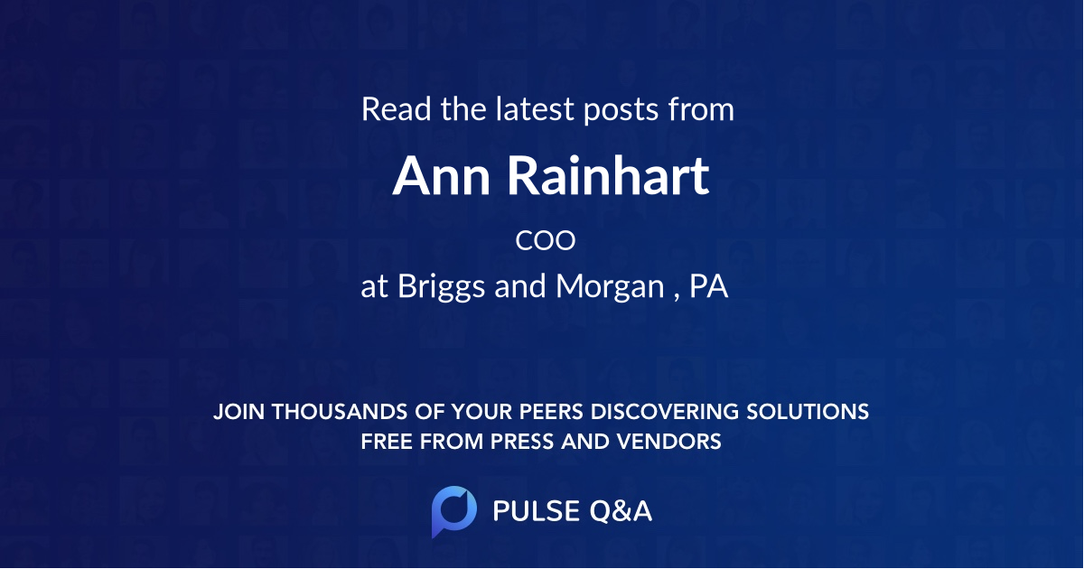 Ann Rainhart