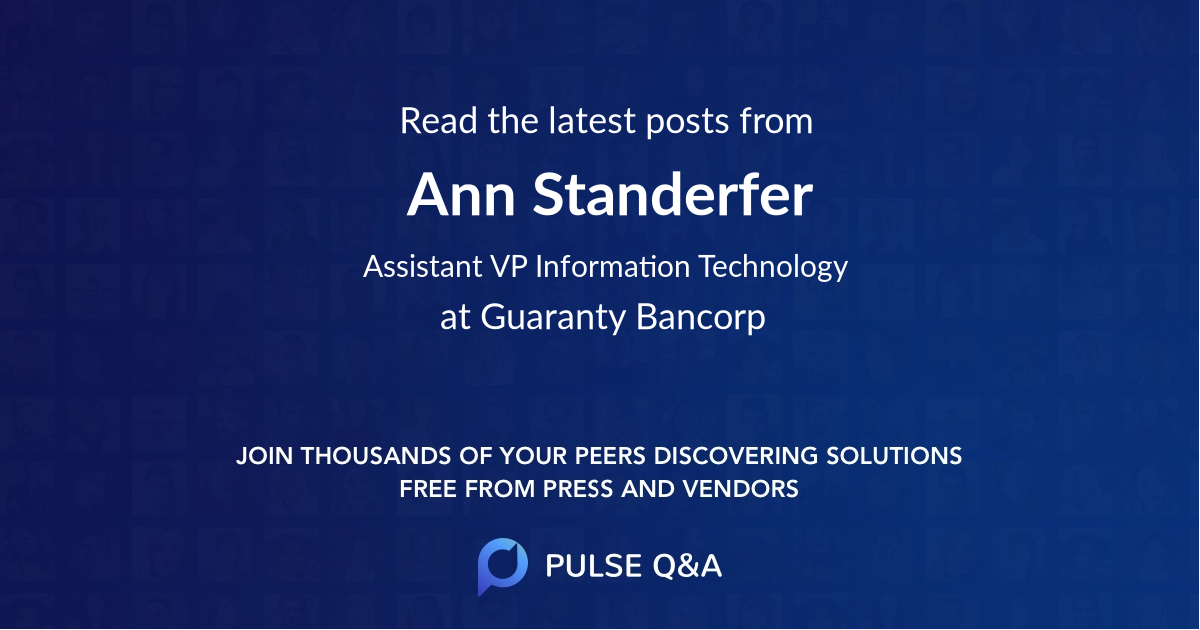 Ann Standerfer