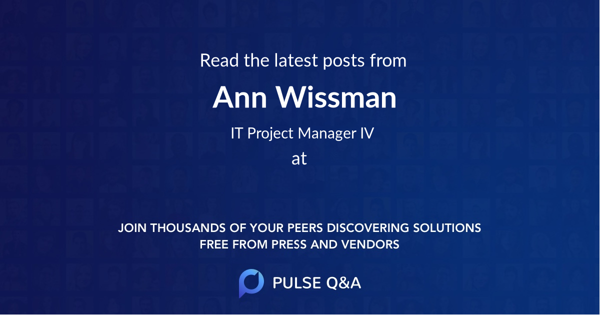 Ann Wissman