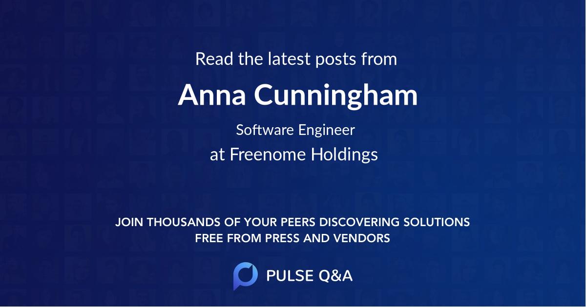 Anna Cunningham