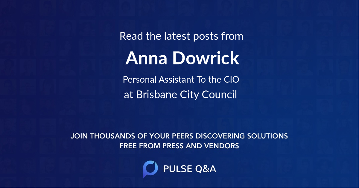 Anna Dowrick