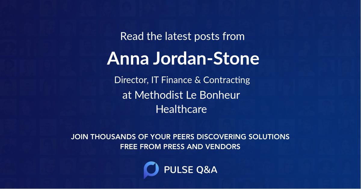 Anna Jordan-Stone