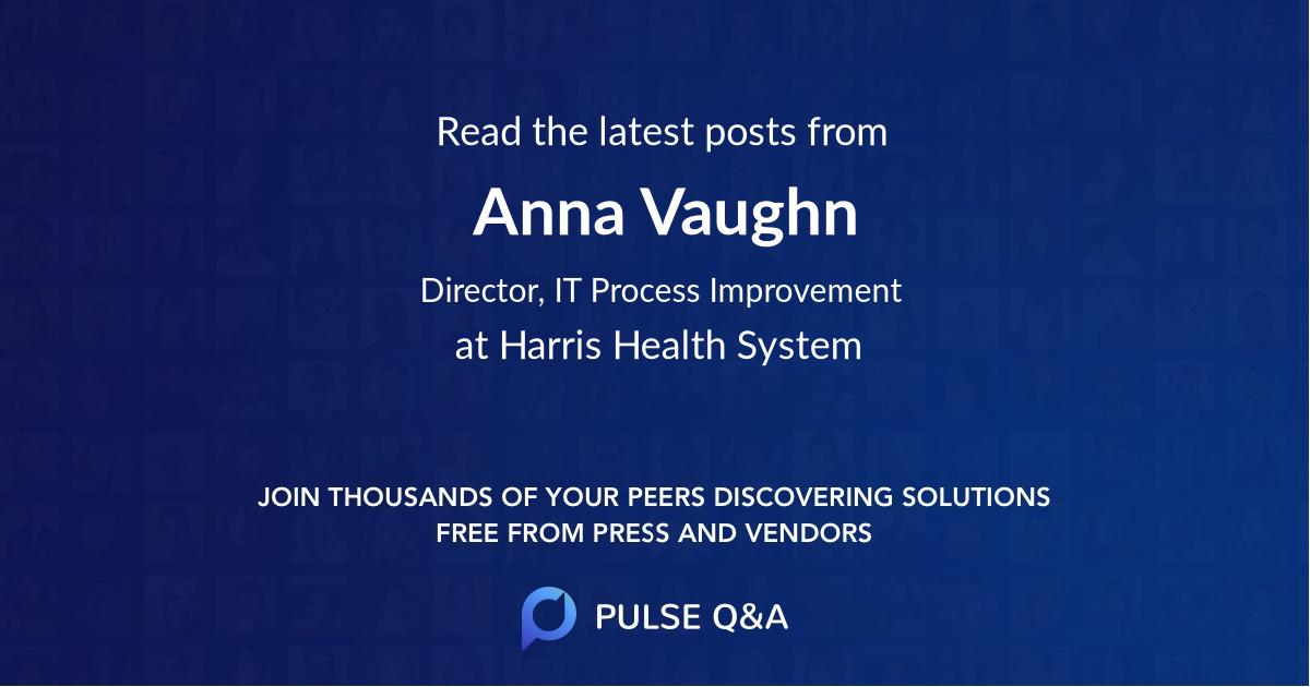 Anna Vaughn
