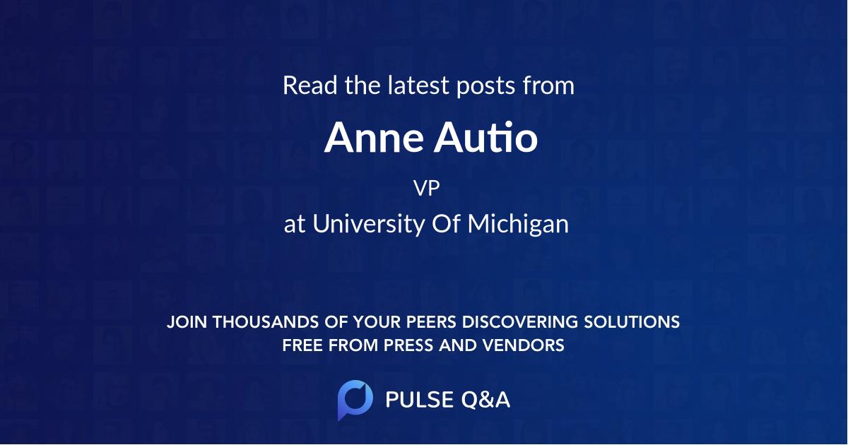 Anne Autio