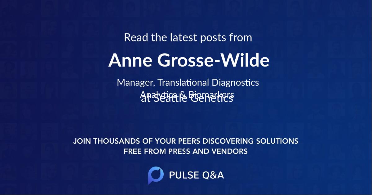 Anne Grosse-Wilde