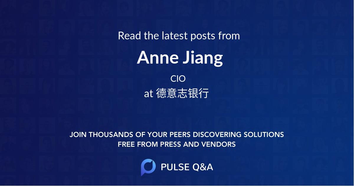 Anne Jiang