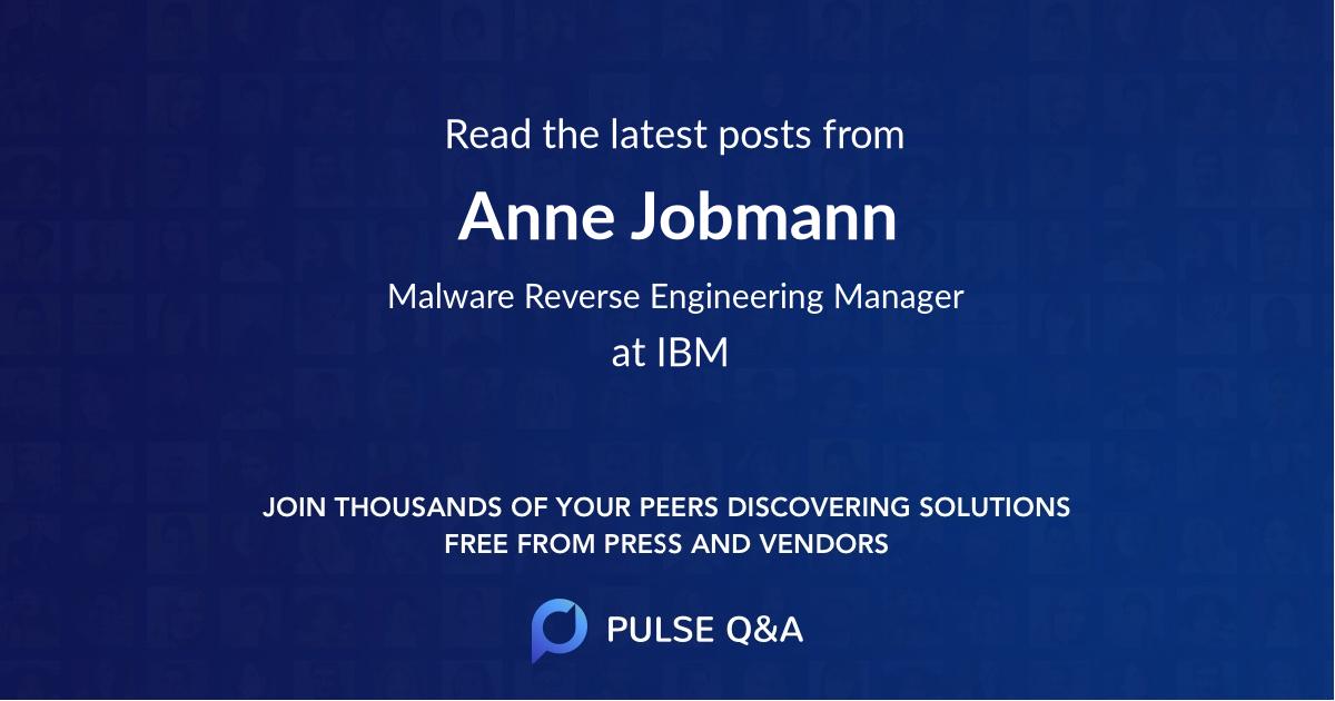 Anne Jobmann