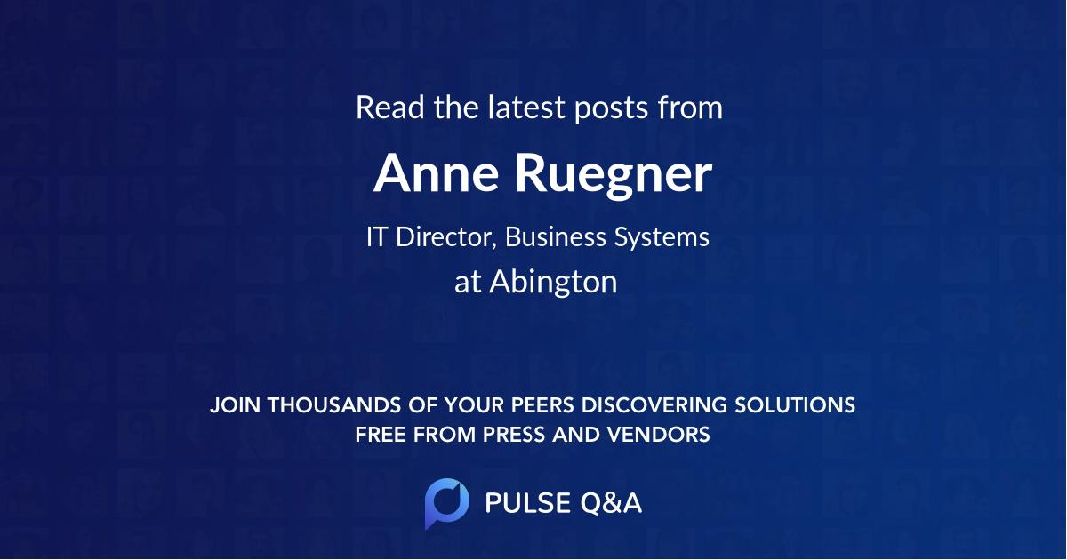 Anne Ruegner