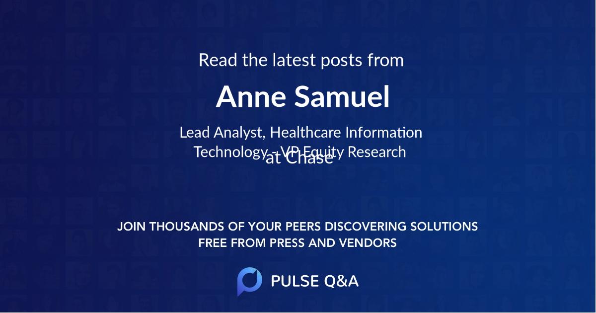 Anne Samuel