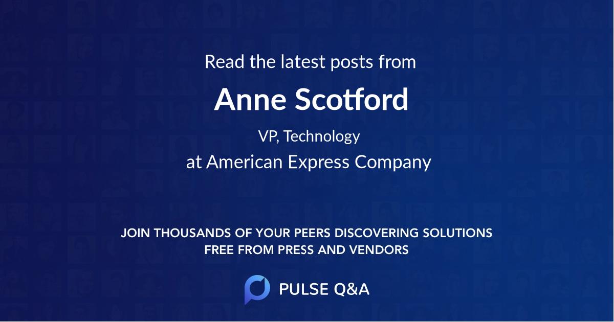 Anne Scotford