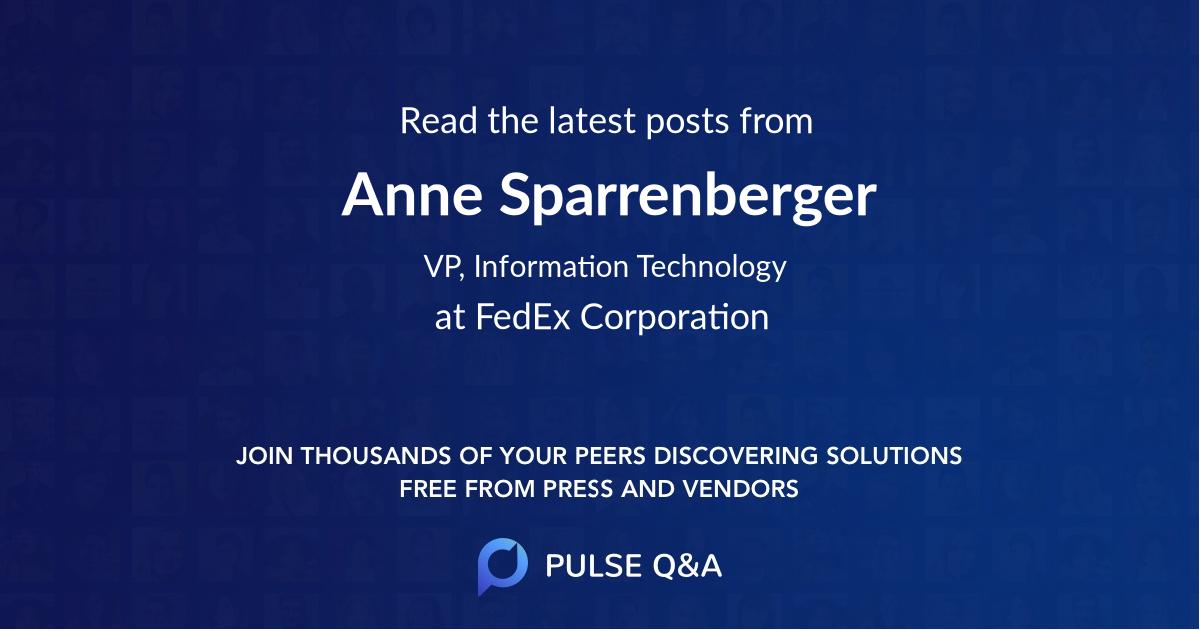 Anne Sparrenberger