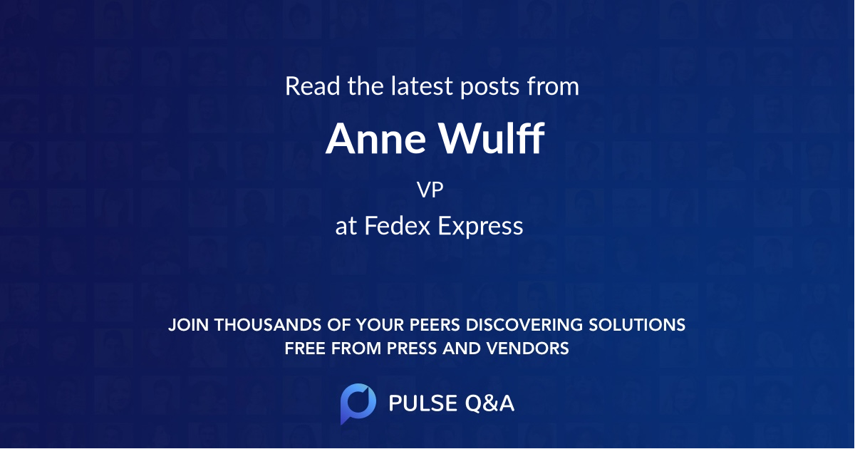 Anne Wulff