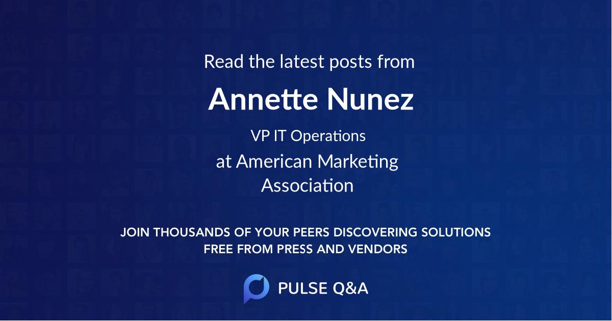 Annette Nunez